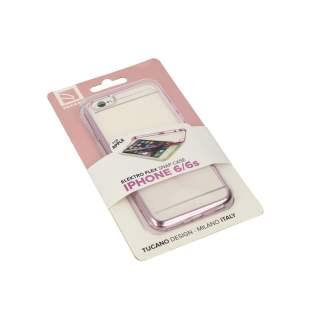 Tucano Elektro Flex Case für iPhone 6/6s Schutzhülle pink - neu