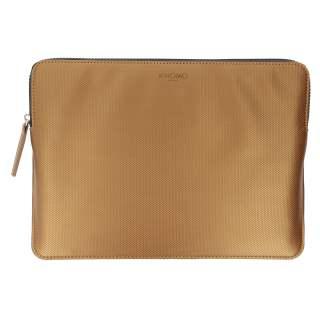 Knomo Embossed Sleeve Schutzhülle für MacBook Tasche bronze
