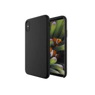 Networx Silikon Case für iPhone X Schutzhülle Handyhülle Cover schwarz