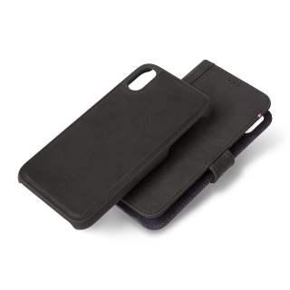 Decoded Detachable Wallet Lederhülle iPhone X / XS Max Flipcase schwarz - neu