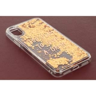 LAUT Pop Glitter Glam Case Apple iPhone X Schutzhülle Handy Cover gold