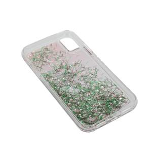 LAUT Liquid Glitter Confetti Pastel M Schutzhülle Apple iPhone XS Backcover
