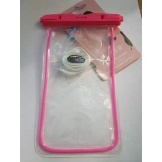 FLAVR Waterproof Tasche Handytasche Universal Unterwasserhülle pink - neu