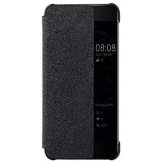 Huawei Smart View Cover Schutzhülle für Huawei P10 Plus dunkelgrau