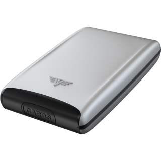 Tru Virtu Credit Card FAN Silk Kreditkartenetui RFID Schutz Silver Arrow silber