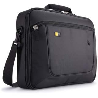 Case Logic Notebook Briefcase Laptop Umhängetasche schwarz