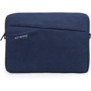Networx PACIFIC Schutzhülle für MacBook Sleeve 13 Zoll Tasche blau
