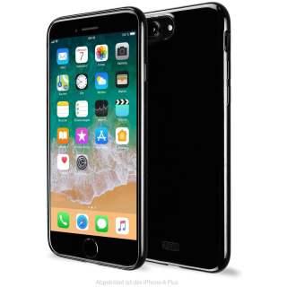Artwizz NoCase für iPhone 8 Plus 7 Plus TPU Schutzhülle schwarz
