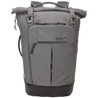 Thule Paramount Rucksack 24 Liter Freizeitrucksack Backpack Rolltop grau