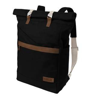MELA Rucksack ansvar I 14 + 5 Liter Backpack Freizeitrucksack schwarz