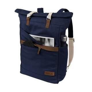 MELA Rucksack ansvar I 14 + 5 Liter Backpack Freizeitrucksack  blau