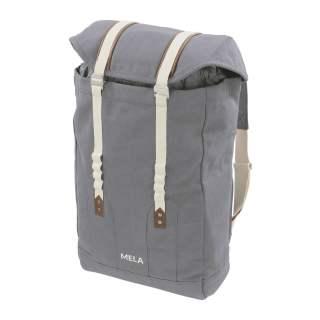 MELA Rucksack MELA V Backpack Freizeitrucksack grau