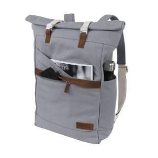 MELA Rucksack ansvar I 14 + 5 Liter Backpack Freizeitrucksack grau
