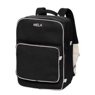 MELA Rucksack MELA II Backpack Freizeitrucksack schwarz