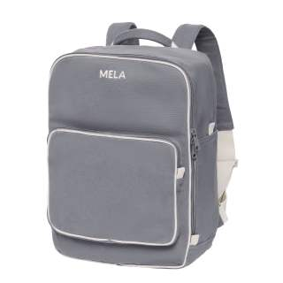 MELA Rucksack MELA II Backpack Freizeitrucksack grau