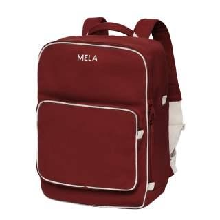 MELA Rucksack MELA II 15 Liter Backpack Freizeitrucksack burgunderrot
