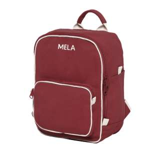 MELA Rucksack MELA II Mini 8 Liter Backpack Minirucksack burgunderrot