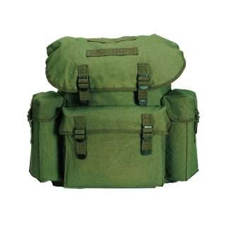 Mil-Tec Rucksack Baumwoll Schul- und Cityrucksack Daypack Imp. oliv