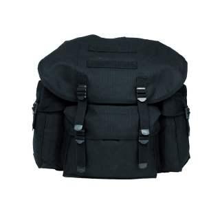 Mil-Tec Rucksack Baumwoll Schul- und Cityrucksack Daypack Imp. schwarz