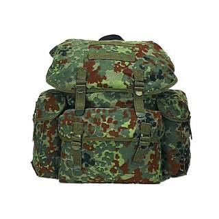 Mil-Tec Rucksack Baumwoll Schul- und Cityrucksack Daypack Imp. flecktarn