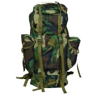 Mil-Tec Rucksack Kampfrucksack Woodland camouflage