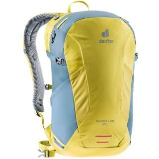 Deuter Speed Lite 20 Wanderrucksack Outdoor Rucksack gelb blau
