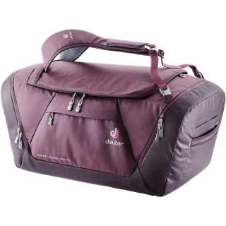 Deuter AViANT Duffel Pro 90 L Reisetasche inklusive Daypack maron-aubergine