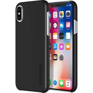 Incipio Feather Ultra Thin Snap on Case Schutzhülle für iPhone X und 10 schwarz
