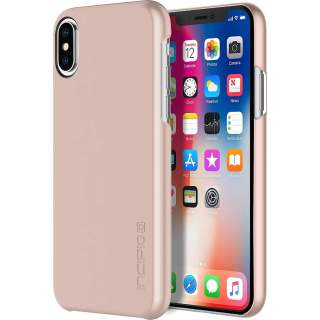 Incipio Feather Ultra Thin Snap on Case Schutzhülle für iPhone X rose gold
