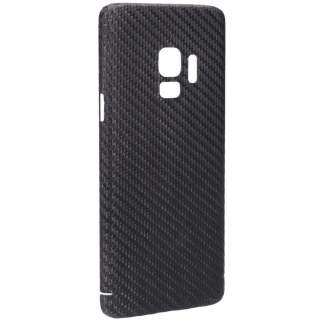 Viversis Carbon Schutzhülle Backcover für Samsung Galaxy S9 schwarz