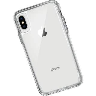 Griffin Survivor Clear Wallet Schutzhülle Case für iPhone X transparent