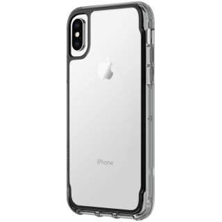 Griffin Survivor Clear Wallet Schutzhülle Case für iPhone X schwarz transparent