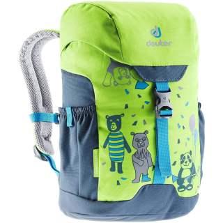 Deuter Schmusebär 8 L Kinderrucksack für Kindergarten grün
