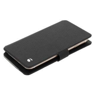 Krusell Malmö Flip Wallet Slide Case Cover Schutzhülle für Smartphone 4XL schwarz